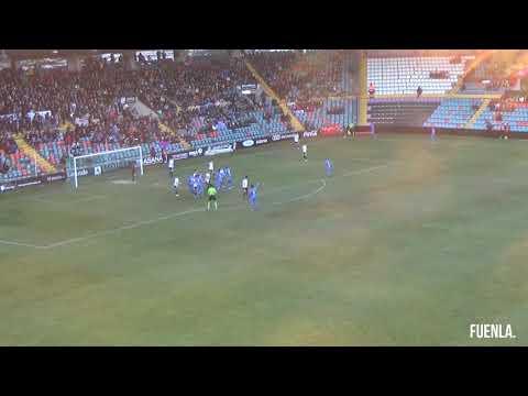 J.20 | SALAMANCA CF UDS 1-2 CF FUENLABRADA. Ocasiones y goles