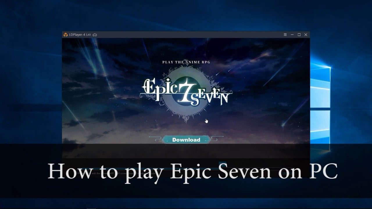 How to play Epic Seven on PC | Best Emulator for Epic 7
