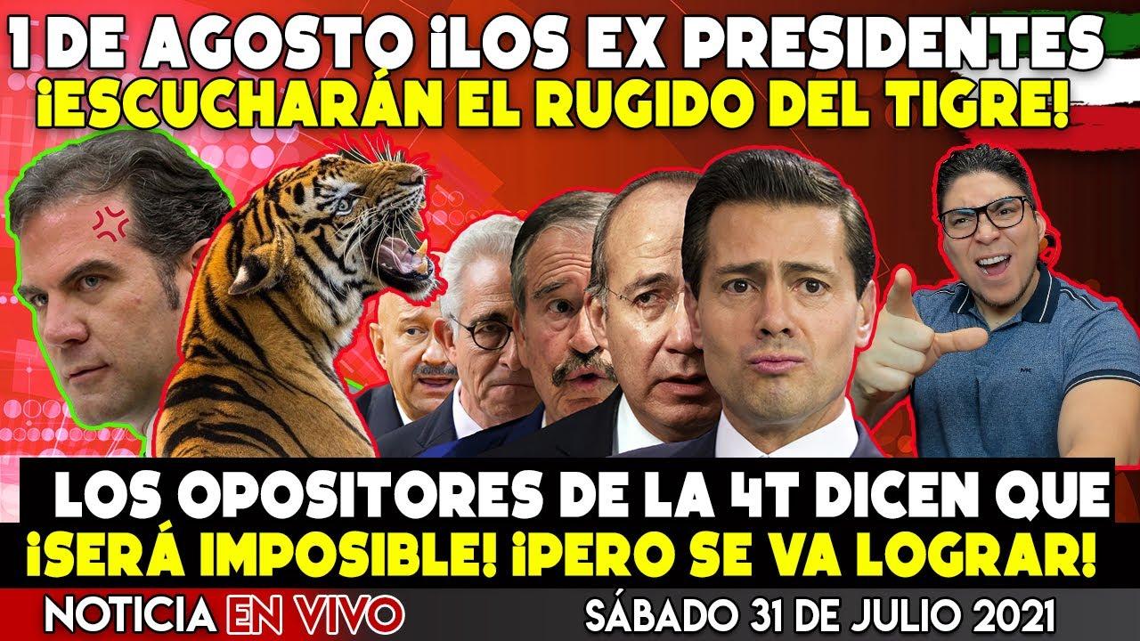 ¡LLEGÓ LA HORA! EL TIGRE RUGIRA ESTE 1 DE AGOSTO ¡PARTICIPANDO EN LA CONSULTA PUPULAR 2021!
