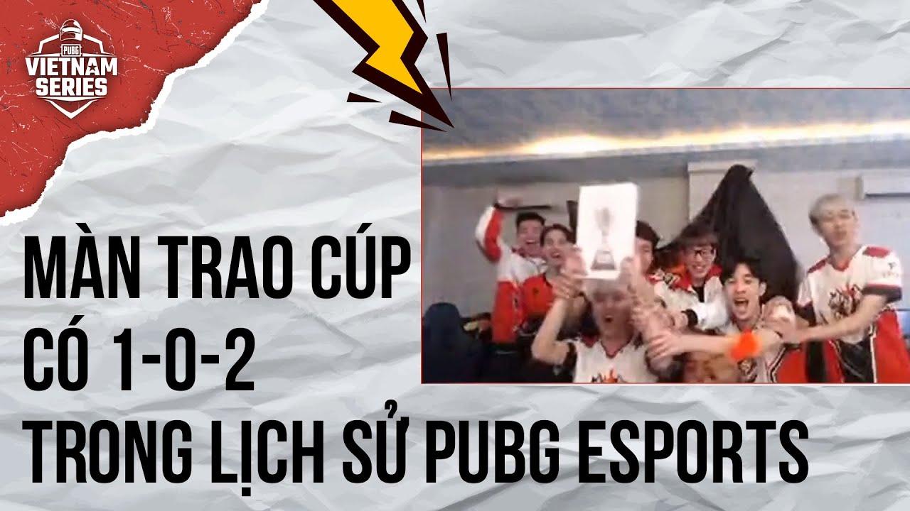 Lễ trao giải có 1-0-2 trong lịch sử giải đấu PUBG Esports | PUBG Vietnam Series Fall 2020