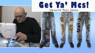 Get Ya' Mcs - Upcycling Jeans