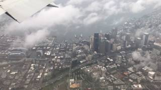Seattle, Washington - Landing at Seattle Tacoma SEATAC International Airport HD (2017)