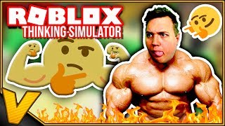 Englisch Roblox:: REBIRTHS AND STRONG THINKING EMOJI FOR 5 MILLION! -Thinking Simulator