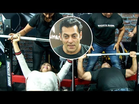 Salman Khan Takes The FITNESS CHALLENGE With Girlfriend Lulia Vantur And Brother Arbaaz Khan