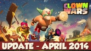 Deutsch Clash of Clans neues Update (9 April 2014) Clanburg lvl 6 | Clan War