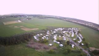 FPV of Yellowcraig Caravan Site