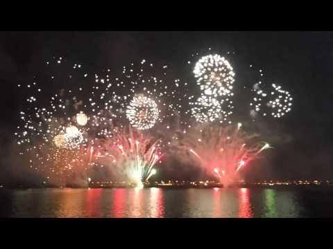 Qatar National Day fireworks 2015