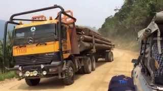 Logging Track Lawas - Ba'Kelalan Road