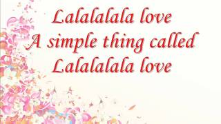 Jesse McCartney- Simple Thing (Called Love) LYRICS