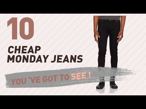 Cheap Monday Jeans For Men // UK New & Popular 2017