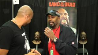 Interview with Vincent Ward  OSCAR from The Walking Dead  at SCARE A CON 2014 S13100131