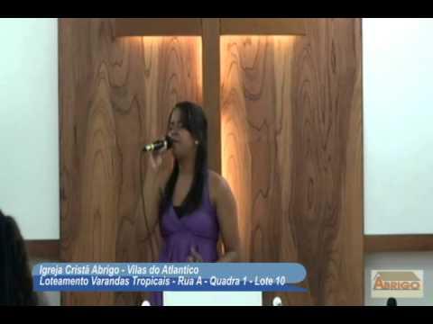 Igreja Cristã Abrigo - Jessica Matos - Louvor Santa Ceia