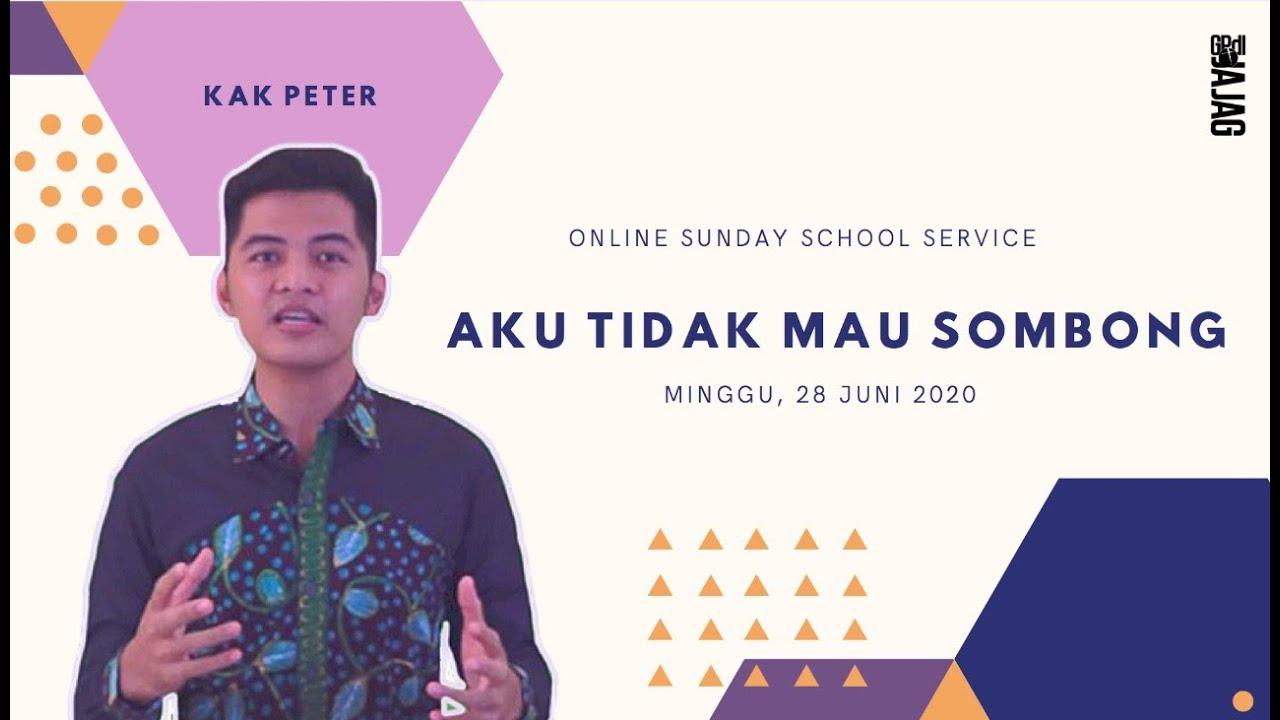 ONLINE SUNDAY SCHOOL SERVICE 28 JUNE 2020