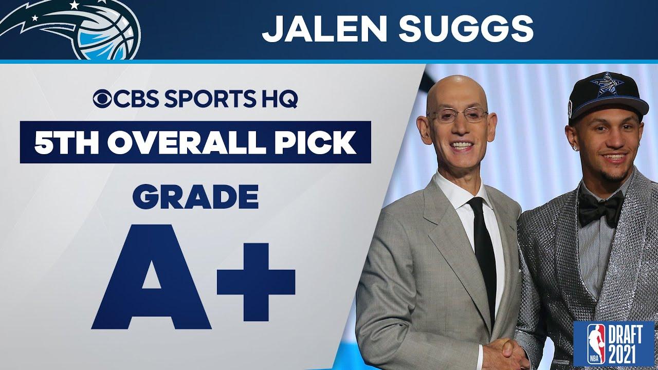 Orlando Magic select Jalen Suggs with No. 5 pick in 2021 NBA Draft