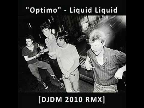 Optimo  Liquid Liquid Cratebug Edit Remix