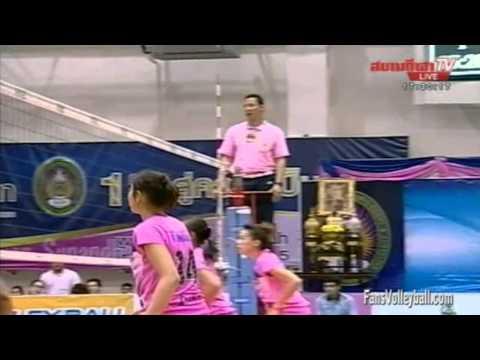สวนสุนันทา VS สุพรีม นครศรี [Set 3] VTL 5-12-2555