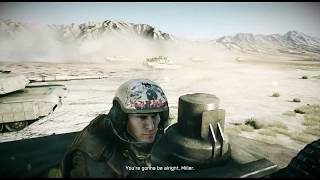 The Best Tank Mission In Any Game - Battlefield 3 Thunder Run ( M1 Abrams Tank Mission )