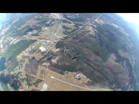 Skydiving at K-Pow with the Red Bull Air force HD