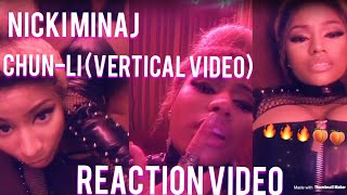 Nicki Minaj- Chun-Li (Vertical Video) | Reaction