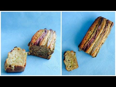 cake-rhubarbe-vegan-+-visite-de-mon-jardin-bio