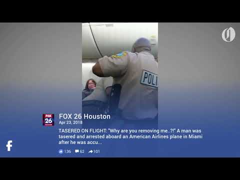 Man tased and arrested on American Airlines flight