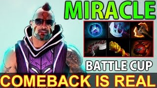 Miracle Antimage - Dota 2 BattleCup Quater Final: Comeback is Real