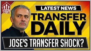 MOURINHO's Manchester United Transfer Shock? MUFC Transfer News