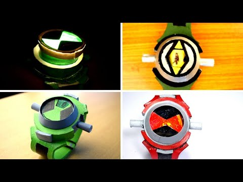 All Ben 10 Alien Force  Omnitrix  Evolution | Ambed Anand