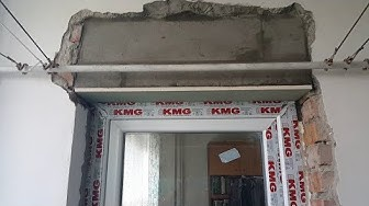 Смяна на стара дървена балконска врата с PVC дограма. (БГ Субтитри)