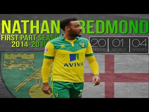 Nathan Redmond [HD] First Part Season 2014-2015 | Norwich City Fc | Goals, Assists, Dribbling