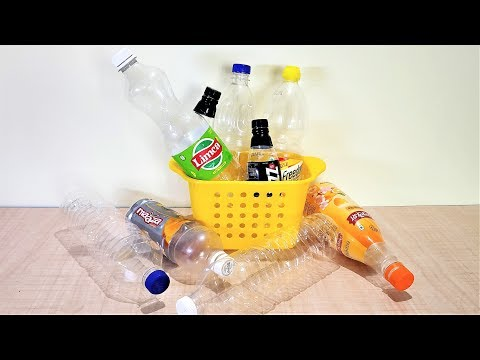 10 IDEAS OF PLASTIC BOTTLES  FOR EVERYDAY USES TO MAKE YOUR LIFE EASIER | PLASTIC BOTTLE CRAFT