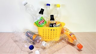 10 IDEAS OF PLASTIC BOTTLES  FOR EVERYDAY USES TO MAKE YOUR LIFE EASIER   PLASTIC BOTTLE CRAFT