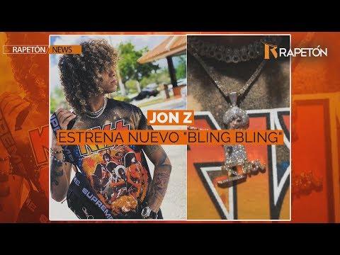 """Jon Z estrena nuevo """"Bling Bling"""" de su cuerpo"""