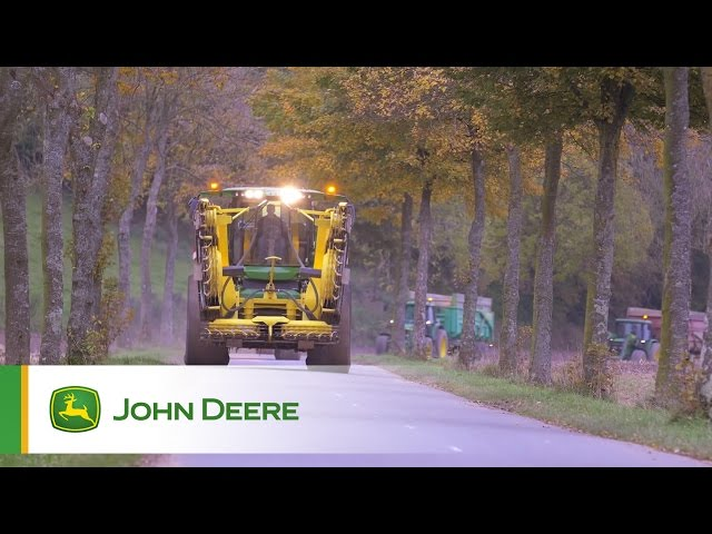 John Deere SPFH 8600 Testimonial Video - France