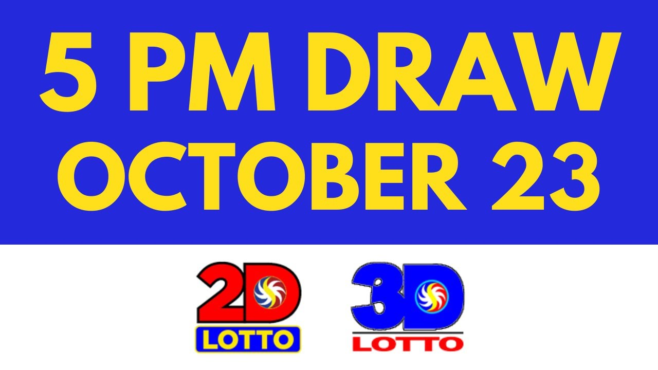 5pm Lotto Result Today Oct 23 2021 [Swertres Ez2]