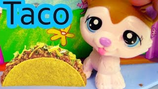 LPS - Wow Random TACO - Littlest Pet Shop Toy Playing Video Series Cookieswirlc Part 1