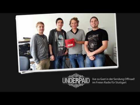 Underpaid live zu Gast im Freien Radio für Stuttgart