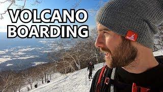 Volcano Split Boarding Adventure in Japan