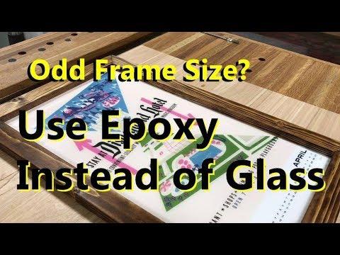 Epoxy instead of glass frames