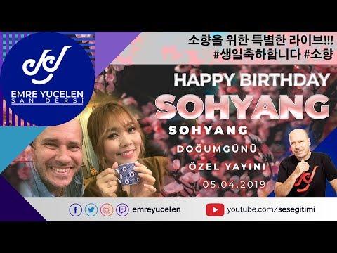 SO HYANG ÖZEL YAYINI #HappyBirthday #SoHyang / 소향을 위한 특별한 라이브!!! #생일축하합니다 #소향