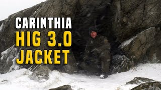 NEW Carinthia HIG 3.0 Cold Weather Jacket Gear Review GERMAN + (ENGLISH SUBTITLES)