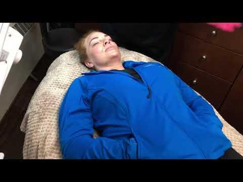 Frozen C CryoTherapy Dr. Jones - procedure preparation