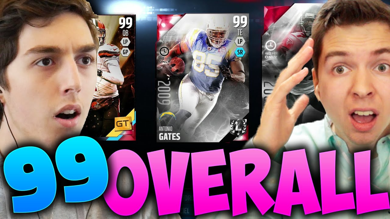 99 OVERALL DRAFT CHAMPIONS! BLIND DRAFT AND PLAY! MADDEN 16 VS TDPRESENTS