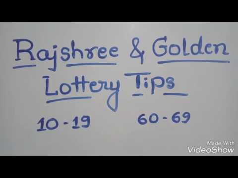 Rajshree & Golden lottery tips - YouTube