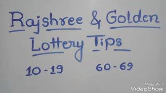 Rajshree & Golden lottery tips