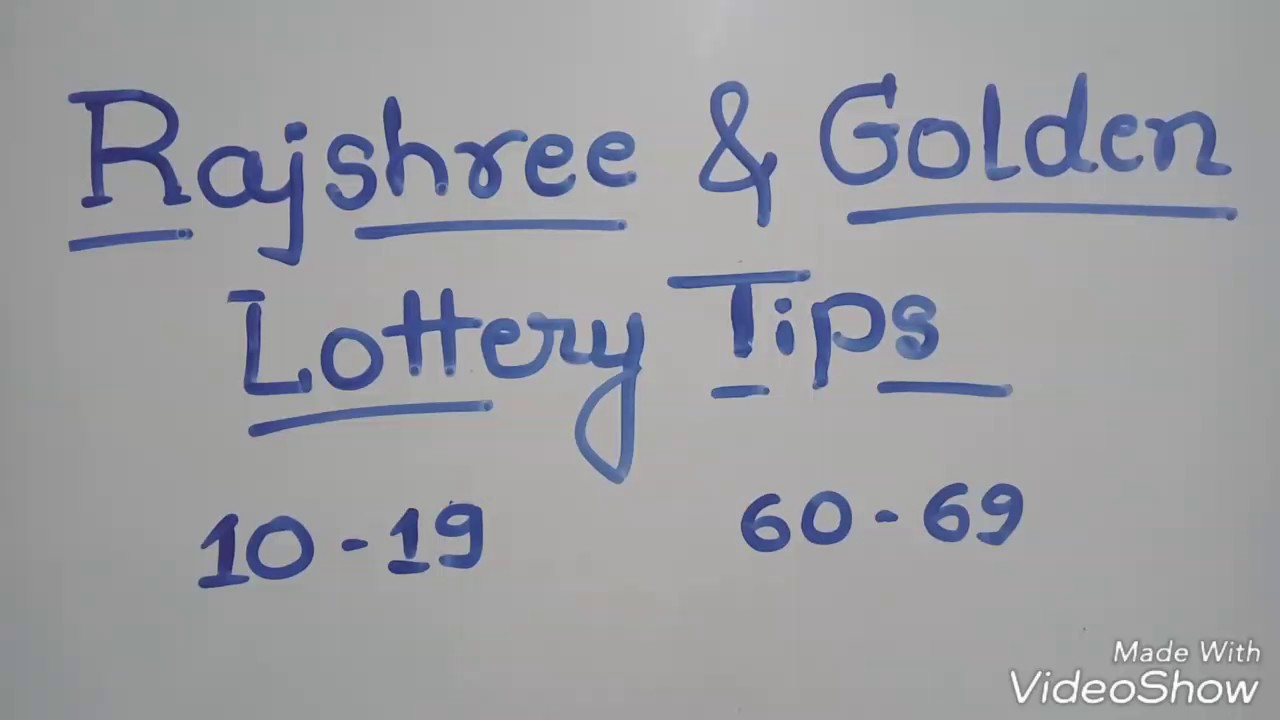 Rajshree & Golden lottery tips