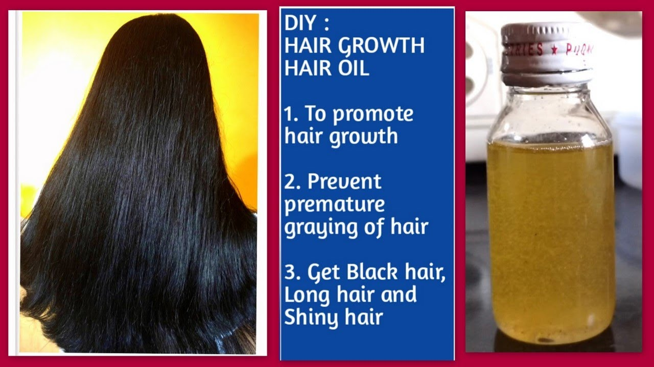 Diy Hair Growth Oil Uphairstyle