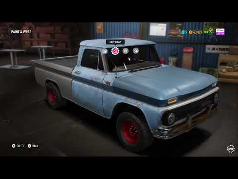NFS Payback - Chevy C10 Restore and Test Drive |