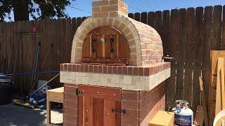 Pizza oven(horno de leña y gas)