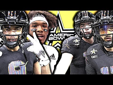🇺🇸 All-American Bowl 2019  (San Antonio,TX) Action Packed Highlights Feat. The Nations Top Ballers